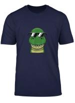 Cooler Dino Comic Sonnenbrille T Shirt