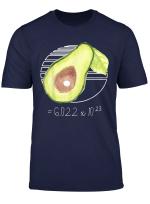 Lustiges Avogadro Zahlen Chemie Nerd Design T Shirt