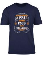 50 Geburtstag T Shirt 1969 Legenden Wurden Im April Geboren
