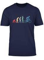 Vintage Road Bike Human Evolution Birthday Christmas T Shirt