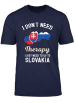 Slovakia Slovak Flag Map Travel Gifts T Shirt