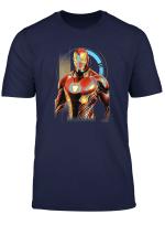 Marvel Infinity War Iron Man Digital Profile Pose T Shirt