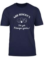 Lustiges Boules Boule T Shirt Ich Geh Petanque Spielen