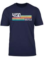 4150 Krefeld Retro T Shirt Alte Plz Vintage Schild