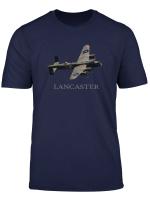 Raf Avro Lancaster Ww2 Bomber Plane T Shirt