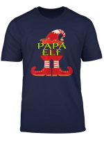 Christmas Group Family Matching Funny Papa Elf T Shirt