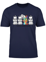 It S Ok To Be Different Autism Awareness Funny Unicorn Shirt
