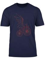 Leonardo Da Vinci Retro Vintage Fahrrad Artistic Artwork T Shirt