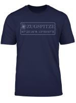 Zugspitze Souvenir Geschenk Wettersteingebirge Deutschland T Shirt