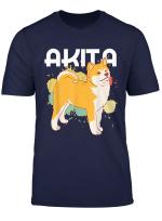 Akita Inu Hundebesitzer Hundepapa Hundemama Hundefreunde T Shirt