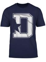 Dallas Flag Fan T Shirt