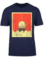 Vintage Japanese Tasty Anime Ramen Noodle Bowl Japan T Shirt
