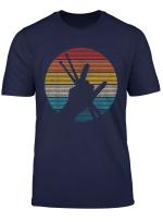 Drummer Vintage Rock Roll Musiker Schlagzeuger Geschenk T Shirt