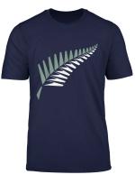 New Zealand Cricket Minimalist Vintage Silver Fern T Shirt