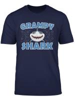 Mens Birthday Gifts For Grampy From Grandchildren Grampy Shark T Shirt