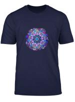 Womens Mandala Lotus Flower T Shirt