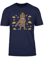 Flossing Sloth Dance Cinco De Mayo Animal Floss Boy Kids T Shirt