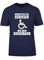 T Shirt Kreuzband Kreuzbandriss Fussball Ski Verletzung