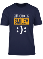 Physics Nerd Gift Schroedingers Smiley Funny Science T Shirt