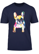 French Bulldog Original Watercolor Illustration T Shirt