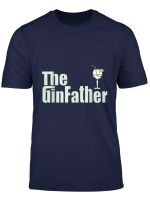 The Ginfather Gin Father Shirt Funny Gin And Tonic T Shirt