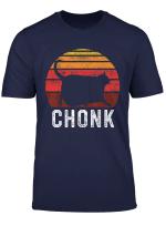 Funny Fat Cats Meme Chonk Cat T Shirt