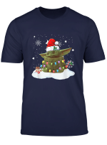 Baby Christmas Yoda Gift Movie The Mandalorian T Shirt
