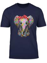 Cute Female Elephant Save The Elephant T Shirt