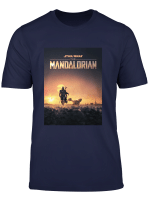 Star Wars The Mandalorian Disney Series Poster Langarmshirt