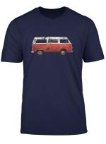 Vintage Bulli Camping T Shirt