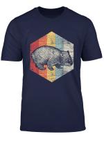 Retro Wombat T Shirt