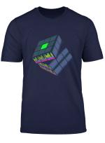 Tontechniker Zauberwurfel Tontechnik Toningenieur Geschenk T Shirt