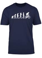 Mtb Mountainbike Evolution T Shirt Mountainbiker Geschenk