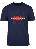 Outlaw Red Horse Cowboy Adventure Gamer T Shirt