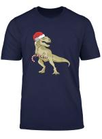 Coole Weihnachten Dinosaurier Tyrannosaurus Rex T Rex Xmas T Shirt