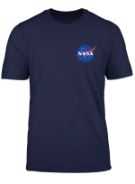Rockstar Science Nasa Logo In Blue And Red Colors T Shirt