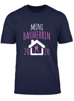 Mini Bauherrin 2020 I Lustiges Kinder Baustellen T Shirt