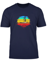 Womens Sup Stand Up Paddle Board Gift For Women Paddler T Shirt