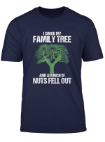 Genealogy Puns Genealogist I Shook My Family Tree Historian T Shirt