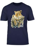 Sundari Leopard Portrait T Shirt