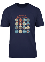 Parks And Recreation Quote Mash Up Standard T Shirt