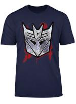 Transformers Decepticon Shield Grunge T Shirt