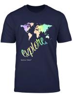 Entdecken Sie Die Welt Abenteurer Globetrotter Reisende T Shirt