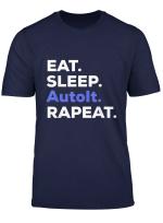 Eat Sleep Autoit Rapeat T Shirt