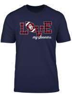 Oklahoma Sooners Love My Team T Shirt Apparel