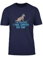 I Are Programmer Programmierer Developer It Katze Devops T Shirt