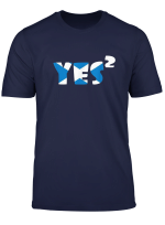 Scottish Independence Yes Scotland Indy Ref 2 Support T Shirt