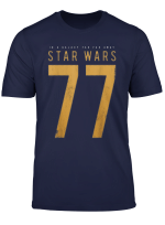 Star Wars 1977 Stitched Bold Logo T Shirt