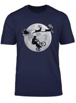 Bmx Christmas Pajamas Santa Gift For Son Bike Racing Riders T Shirt