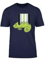 Agender Chameleon Gay Rights Pride Week T Shirt